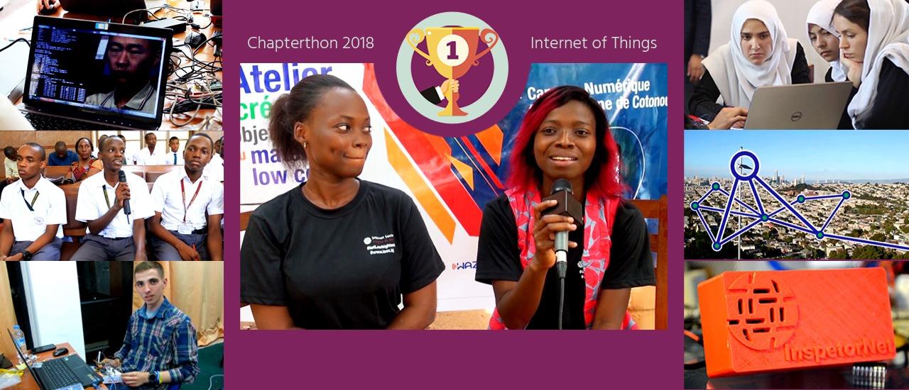 El Capítulo de Benín se proclama ganador del Chapterthon 2018 Thumbnail