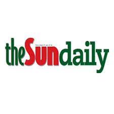 The Sun Daily logo