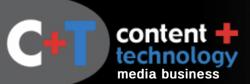 content + technology logo